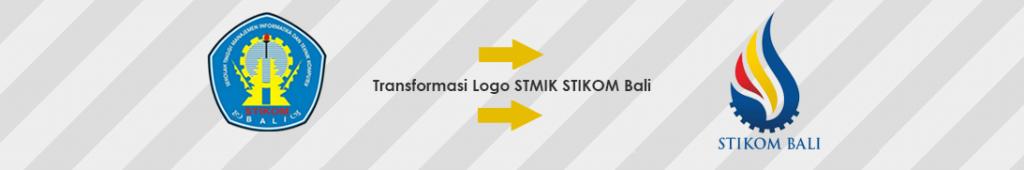 Transformasi Logo Institut Teknologi dan Bisnis (ITB) STIKOM Bali